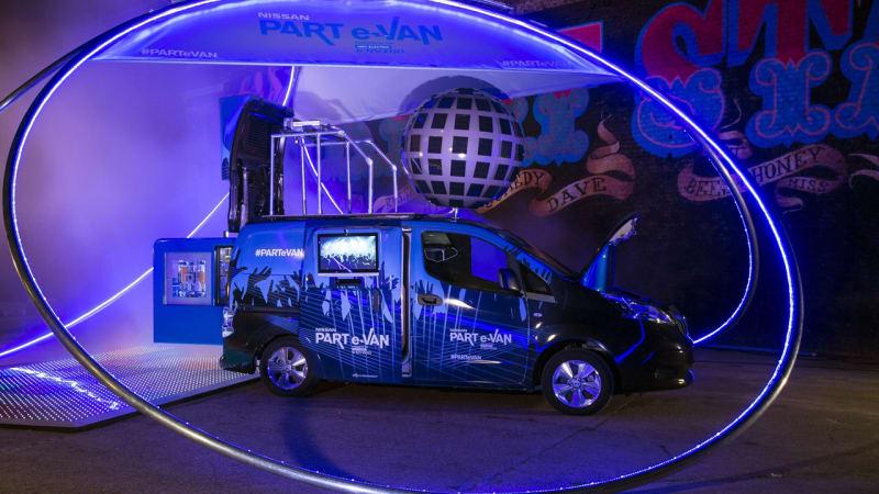 Nissan transforms NV200 into part-e-Van [w/video]