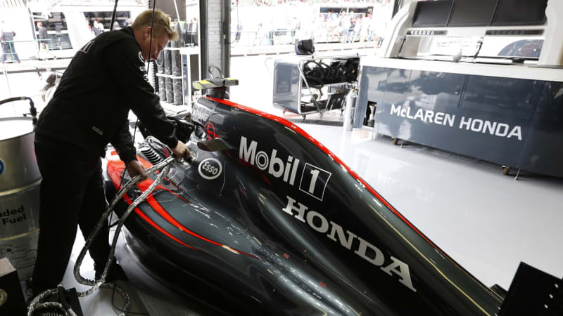 Honda revamps F1 engine for McLaren