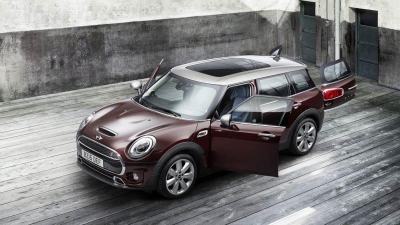 2016 Mini Clubman opens its many doors to the world