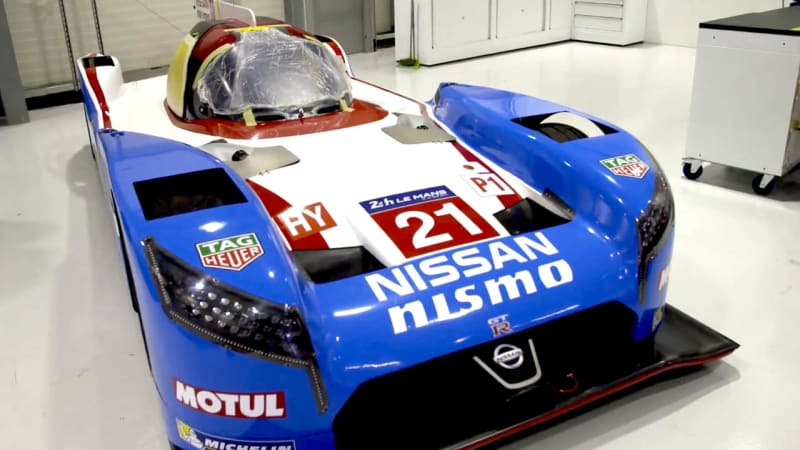 Nissan cooks up throwback livery for Le Mans
