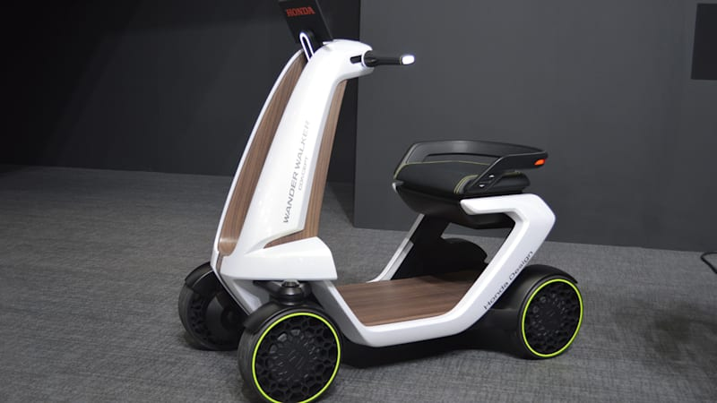 Honda Wander Walker, Stand will roam around, around, around [w/video]