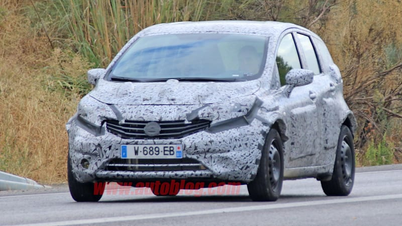 Nissan-Renault mule teases mysterious subcompact
