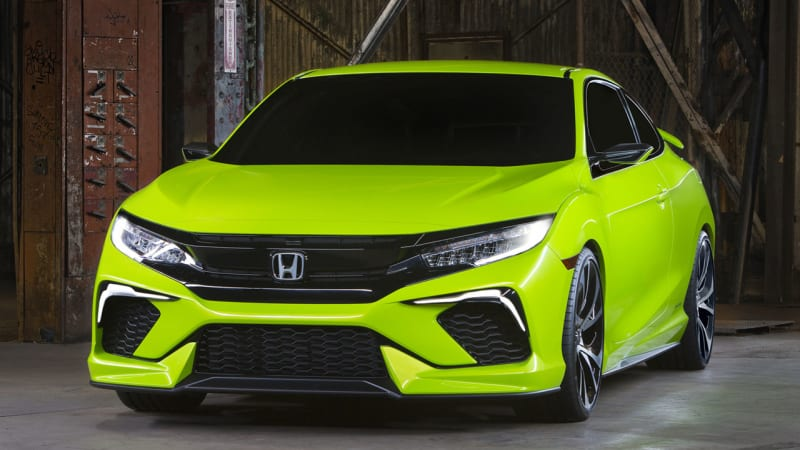 Honda to reveal new Civic Coupe in LA