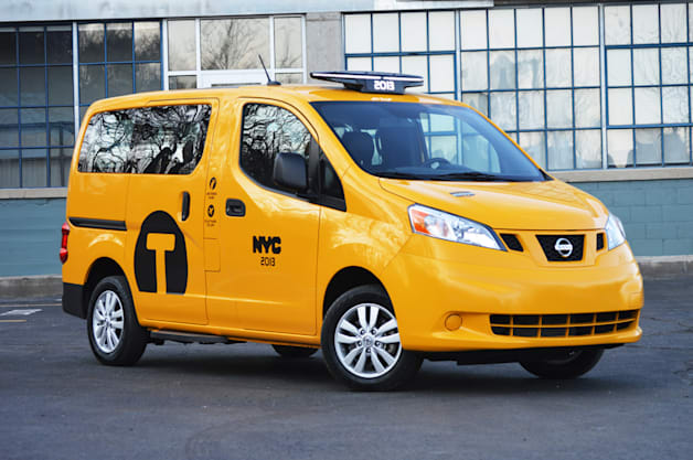 Quick Spin: Nissan NV200 taxi