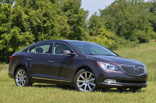 2014 Buick LaCrosse - front three-quarter view