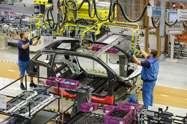 BMW i3 production