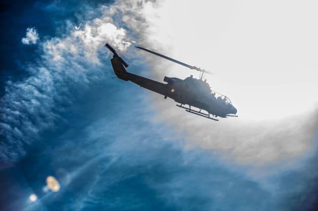 firefighters new york nassau county AH-1W Super Cobra exercise Marines Camp Lejeune