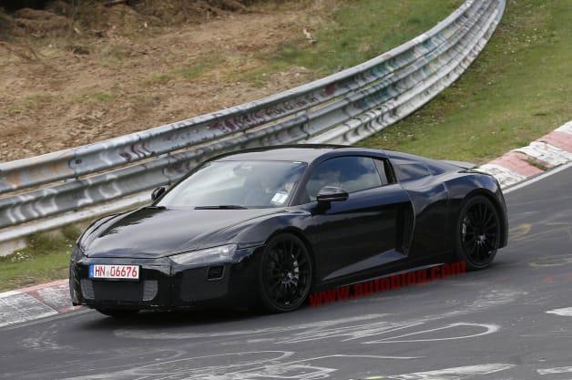 Audi R8: Spy Shots