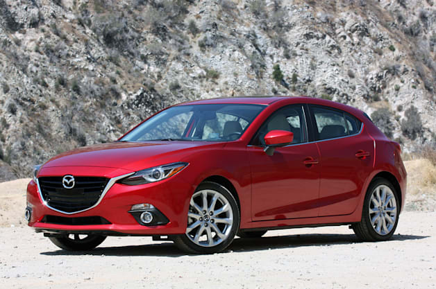 2014 Mazda3 hatchback - front three-quarter view