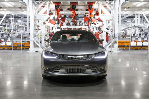Chrysler 200 Factory Tour from Google