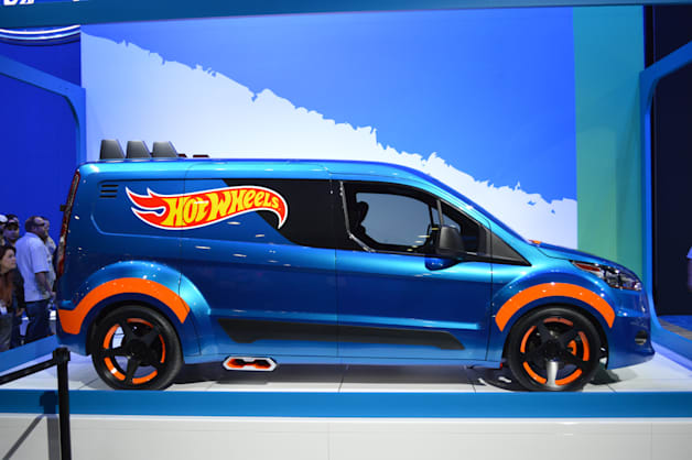 Ford Hot Wheels Transit Connect