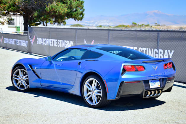 2014 Chevy C7 Corvette Stingray rear side