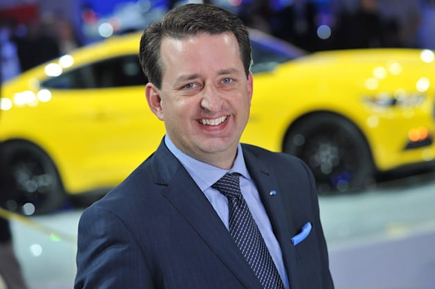 Joel Piaskowski, Ford of Europe Design Boss
