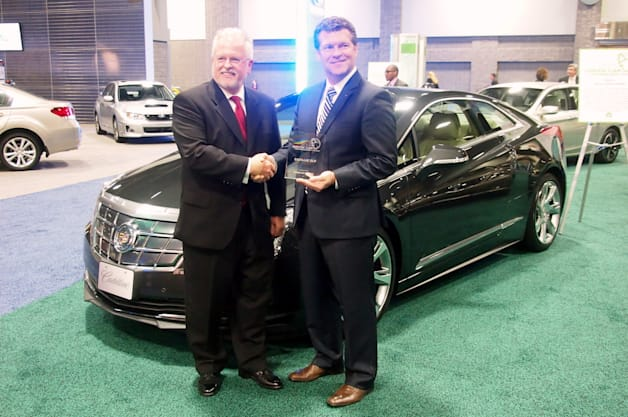 Cadillac ELR Green Car Technology Award DC 2014