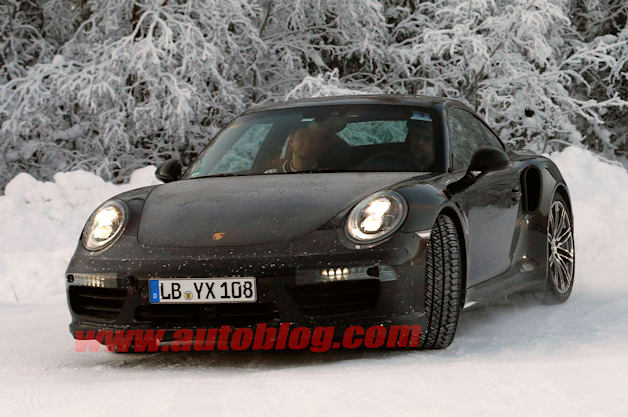 Porsche 911 Turbo: Spy Shots
