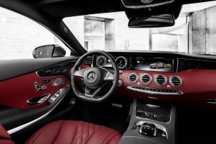 2015 Mercedes-Benz S-Class Coupe interior
