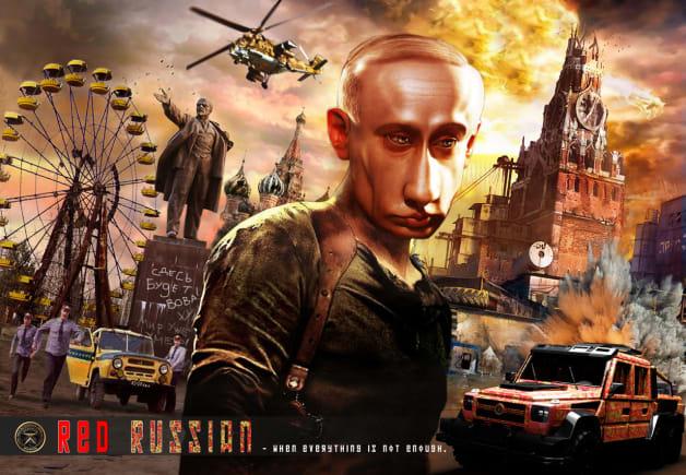 Dartz Red Russian