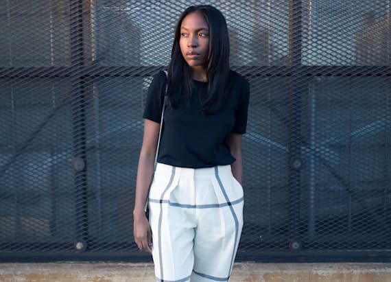 Street style tip of the day: Grid locked