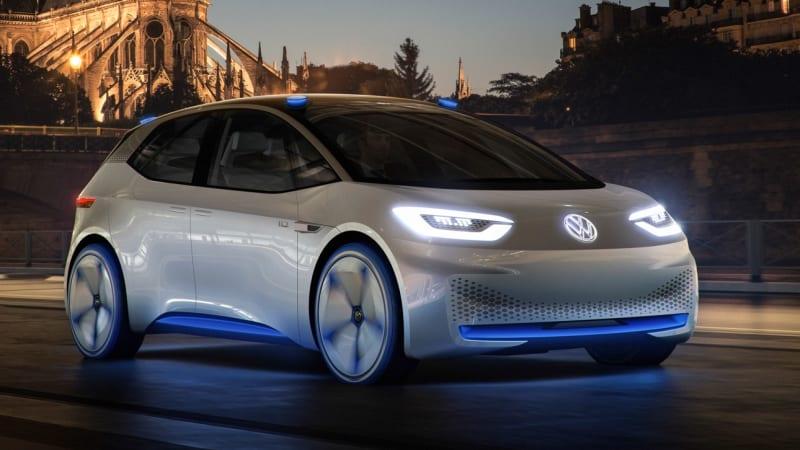 VW I.D. arrives in 2020, will go full autonomous in 2025