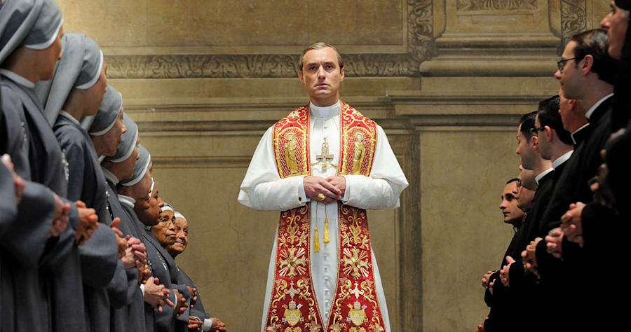 "set of ""The young Pope"" by Paolo Sorrentino.10/23/2015 sc. 108 ep. 1In the picture Jude Law.Photo by Gianni Fiorito"