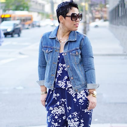 Street style tip of the day: Floral jumpsuit