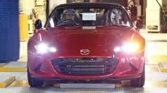 2016 Mazda Miata production launch