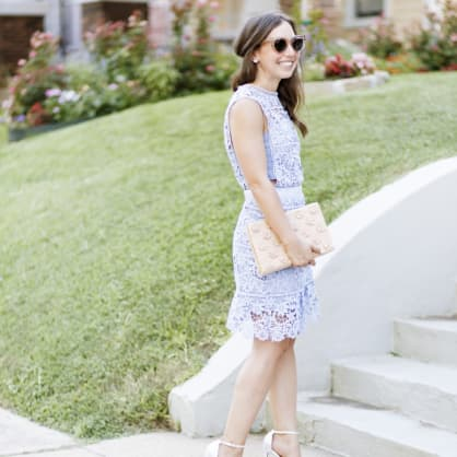 Street style tip of the day: Lilac love