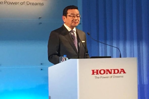 HONDA President Press conference feb,2016