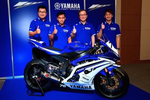 YAMAHA FACTORY RACING TEAM A600