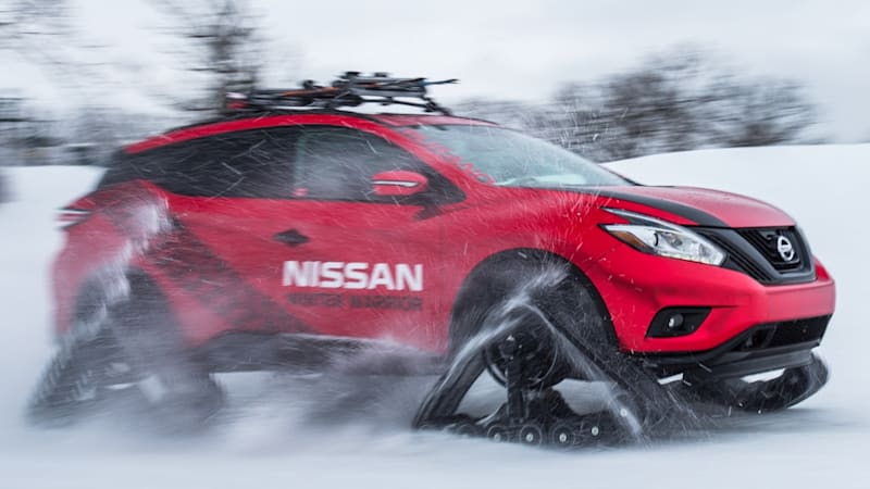 Nissan Winter Warrior concepts are ready for sub-zero school runs