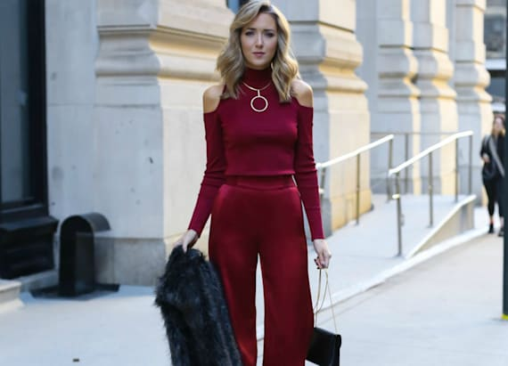 Wear these festive pants to your next holiday party