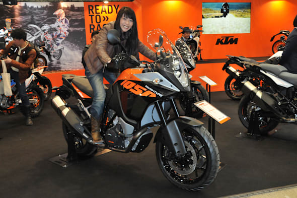 TOKYO MOTORCYCLE SHOW 2015 KTM