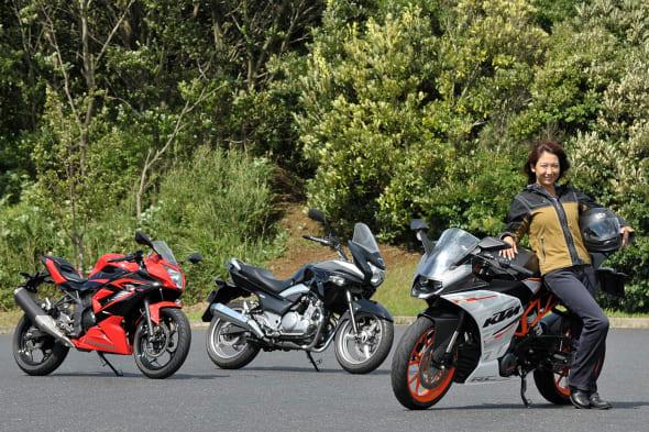 KTM RC250 【KTM RC250、カワサキ Ninja 250SL、スズキ GSR250