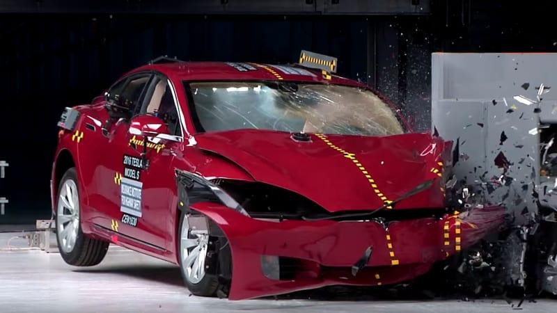 IIHS: Tesla Model S, BMW i3 fall short in recent crash tests