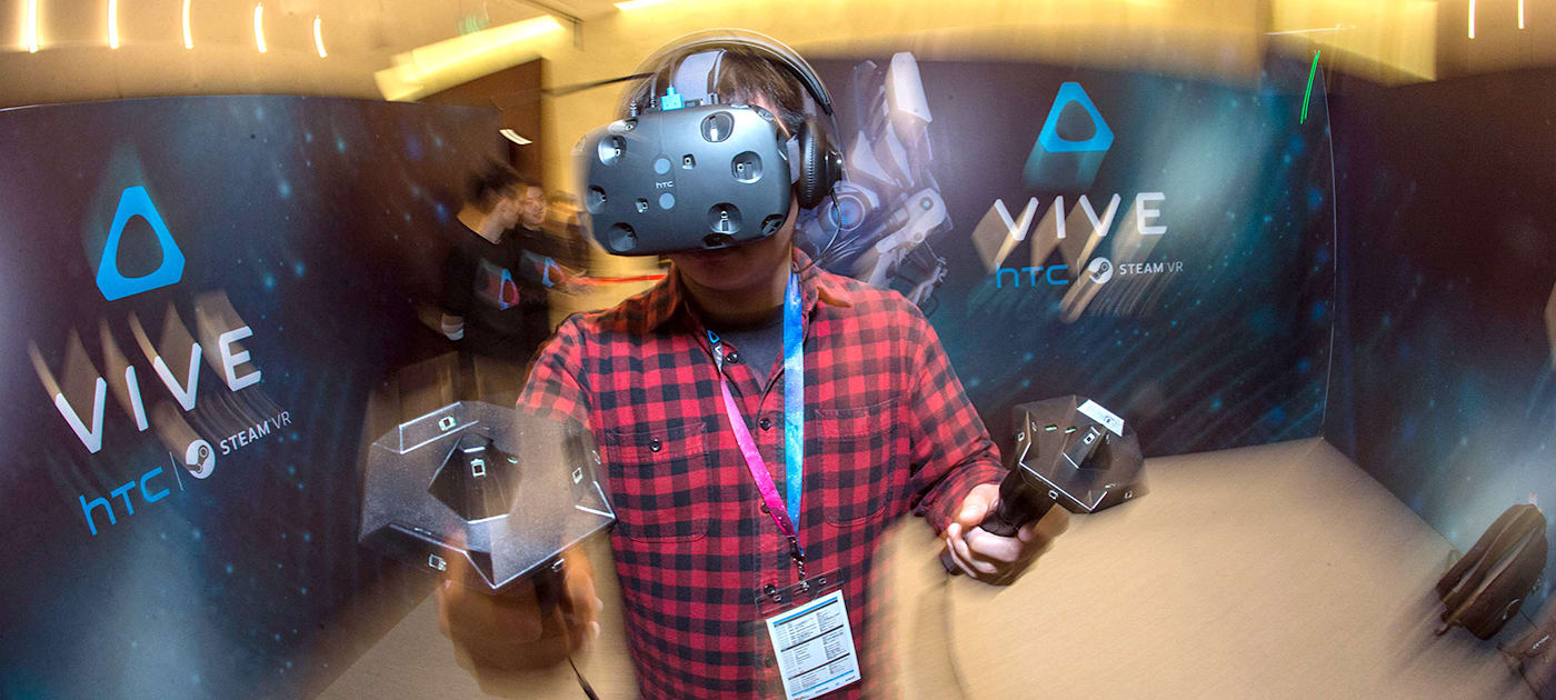 HTC and Valve's Vive VR system passes through the FCC