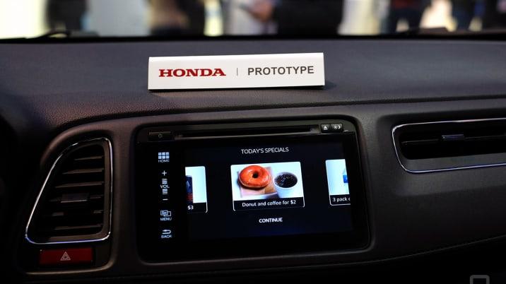 honda connected car