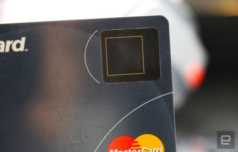 Mastercard testet Kreditkarten mit Fingerabdrucksensor