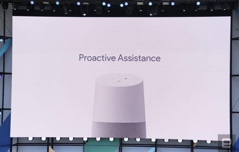Google I/O: Google Home wird proaktiv, kann telefonieren und mit Bildschirmen reden