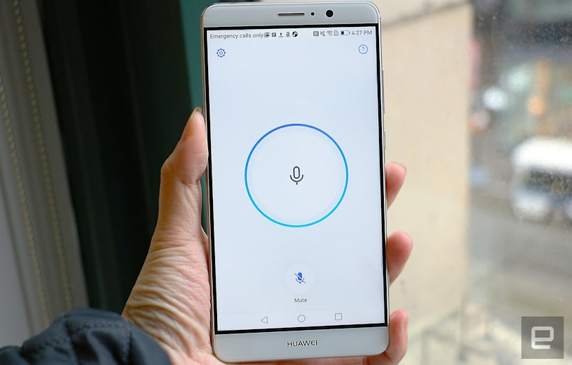 Alexa auf dem Huawei Mate 9