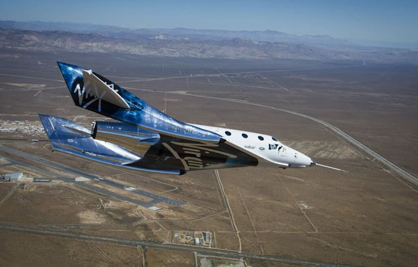 Video: Virgin Galactic erprobt Unitys Wiedereintrittssystem