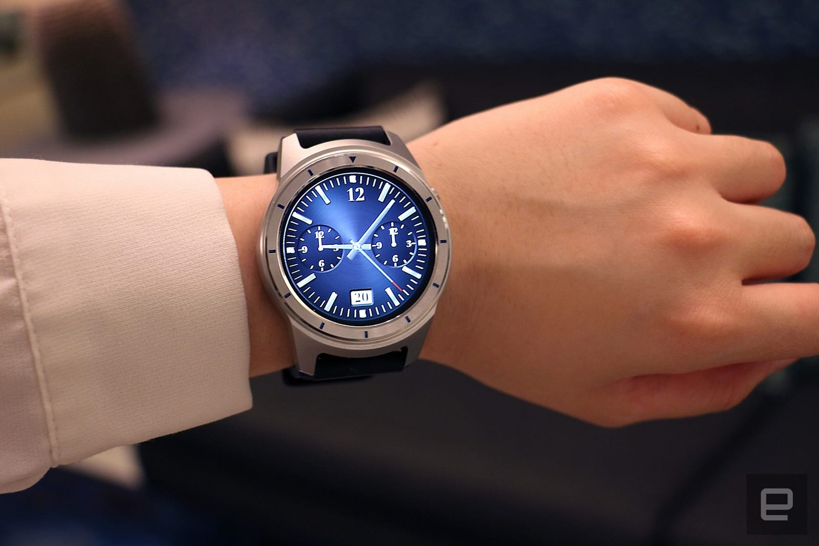 photo image The ZTE Quartz is an affordable intro to Android Wear 2.0