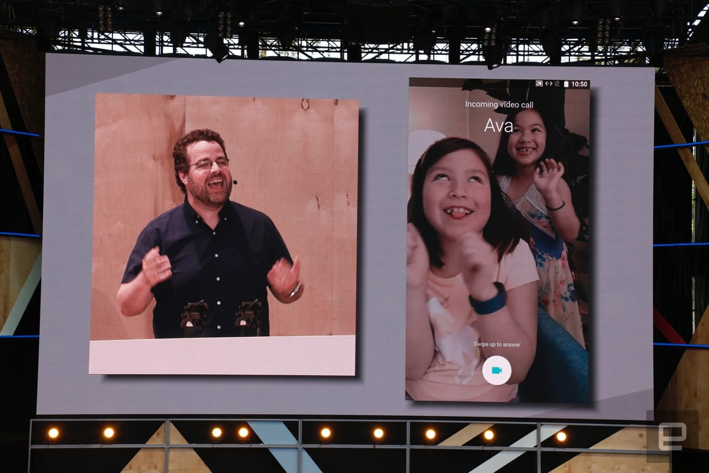 Google shows off its new 'Duo' video calling app at I/O