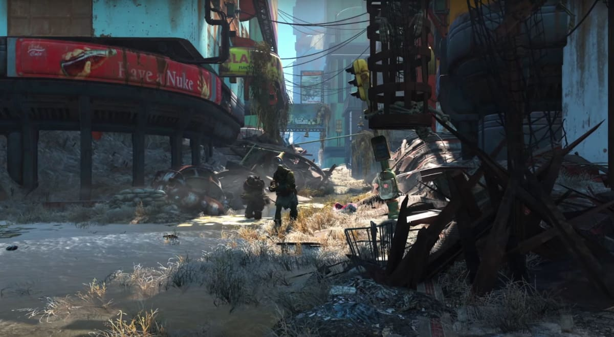 The 'Fallout 4' launch trailer has robots, beasts, mutants and more