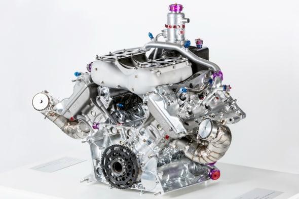 PORSCHE Porsche 919 Hybrid, 4-Cylinder Turbomotor