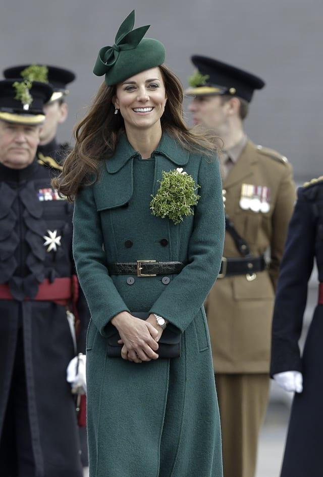 Britain Royal St Patricks Day Parade