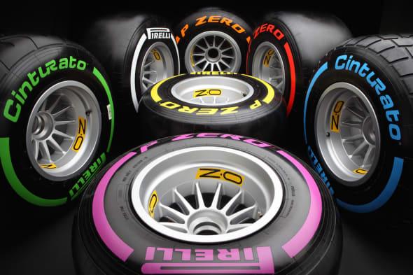 Formula One pirelli