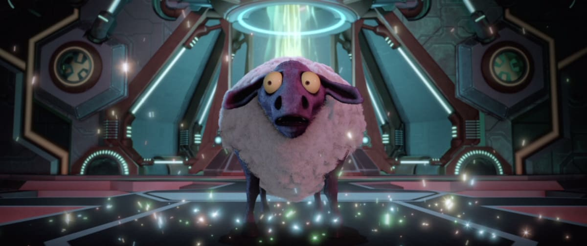 A sheep steals the show in the new 'Ratchet & Clank' movie trailer