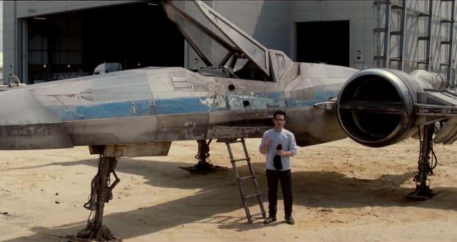 jj abrams star wars x-wing