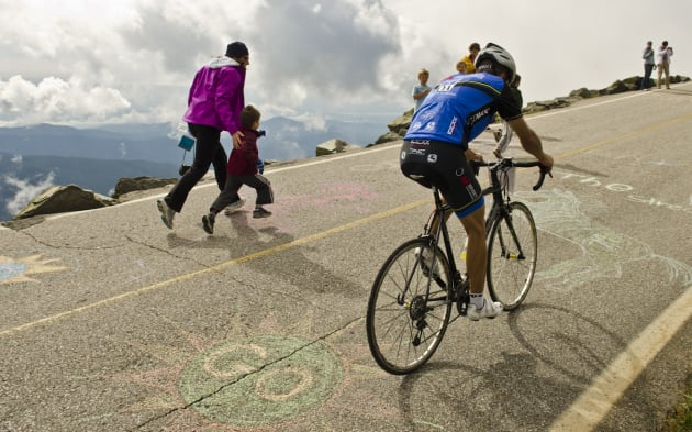 2012 Mt Washington Bicycle Hill Climb