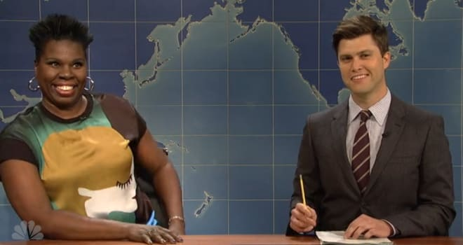 'SNL' promotes Leslie Jones to cast from writers room